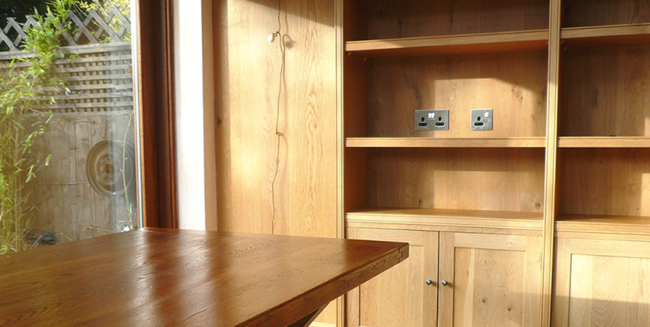 Bespoke Joinery Table & Cabinets, Edinburgh